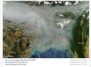 NASA Satellite Image resized